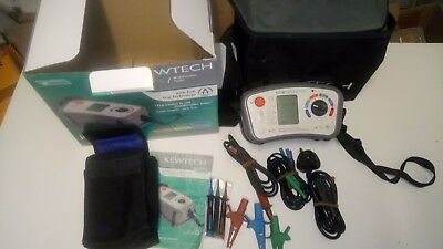Kewtech kt64 17th Edition Multifunction Tester