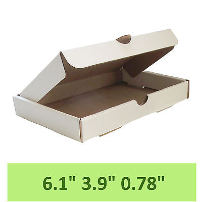 White Carton boxes (HIGH QUALITY Packaging Postal Mailing small Cardboards)