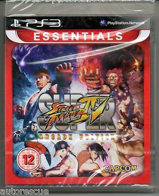 Super Street Fighter IV(4) Arcade Edition  'New & Sealed'   *PS3*
