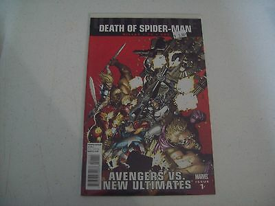 "AVENGERS vs NEW ULTIMATES #1 ""DEATH OF SPIDER-MAN"""