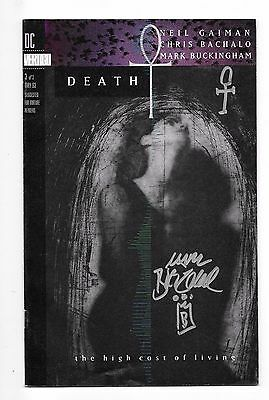 Death The High Cost Of Living 3 Replacement Edition Signed Mark Buckingham