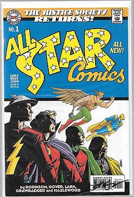 All Star Comics 1 Signed By Dave Johnson Justice Society Of America Returns Jsa