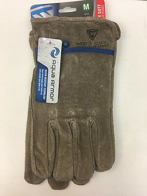 WEST CHESTER Split Leather Water Resistant Heavy Duty Work Gloves Gloves