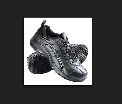 Shoes for Crews Work Safety Sneakers Evolution Black Size Men's 12 Wide #8028