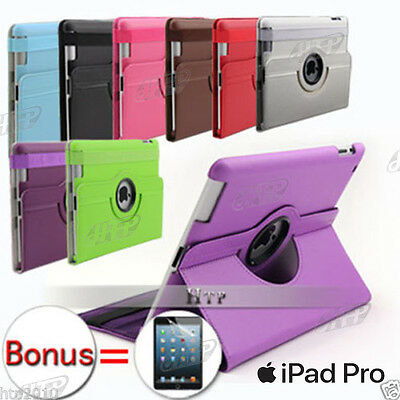 Slim Stand Smart Leather Pouch Case Cover for Apple iPad Pro