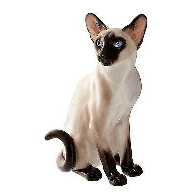Beswick John Beswick Connoisseur Collection Siamese Colour Point Cat