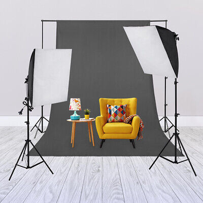 2x 135W Photography Lighting Softbox Studio Continuous Soft Box Light Stand Kit