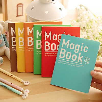 Portable Cute Cartoon Student Paper Note Book Memo Diary Notebook Exercise Book