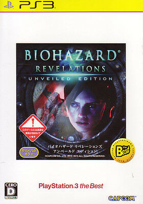[FROM JAPAN][PS3]Biohazard Revelations Unveiled Edition Best (Resident Evil)...