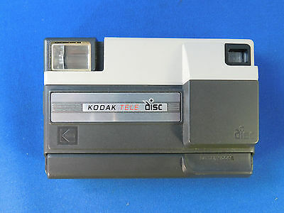 Kodak  Tele Disc Camera, Excellent Condition, Built in Flash uses 2 AA batteries