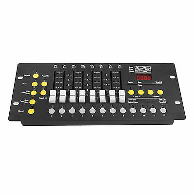 DMX512 Controller Console 92CH Stage Light Programmer Party DJ Board Equipment