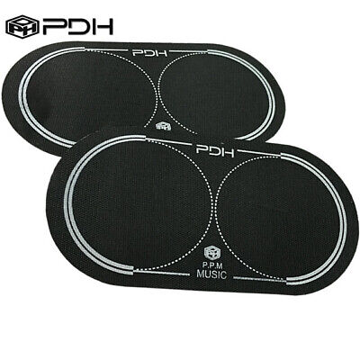 PDH 2x Single Black Nylon Drum Beater Patch Protector Single or Double pedall