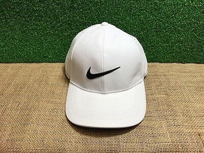 Nike Dri-Fit Golf Cap, Unisex, Adjustable Size, White, NEW