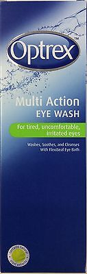 Optrex Multi Action Eye Wash with bath 300ml for tired & irritated eyes