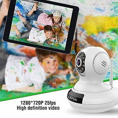 Baby Monitor WiFi Video Record Remote Motion Audio Night Vision Wireless Camera
