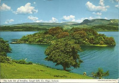 John Hinde Postcard - THE LAKE ISLE OF INNISFREE, LOUGH GILL, Co. SLIGO, IRELAND
