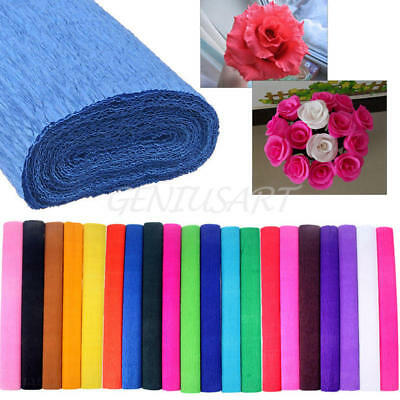 Crepe Paper Wedding Birthday Party Supplies Decoration Streamer Roll Decor