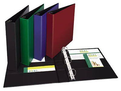 Avery Products 11358 3-Ring Notebook Binder, Assorted Colors, 1-1/2-In. -