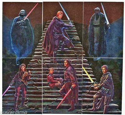 Star Wars Finest - Complete Chase Foil Card Set (1-6) 1996 @ Near Mint