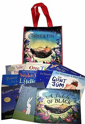 Bedtime Fun For Everyone Collection 10 Books Set in a Bag Children Gift Set Pack