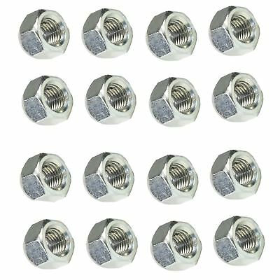 Pack of 16 M12 x 1.5 Wheel Nuts Nut For Trailer Suspension Hubs Trailers