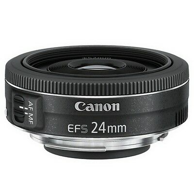 Canon EF-S 24mm 1:2,8 STM Photo Digital Objektiv SMT Scharfstellung