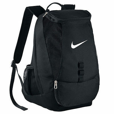 Nike Club Team Swoosh Bag Backpack Rucksack School Soccer Football Red or Black