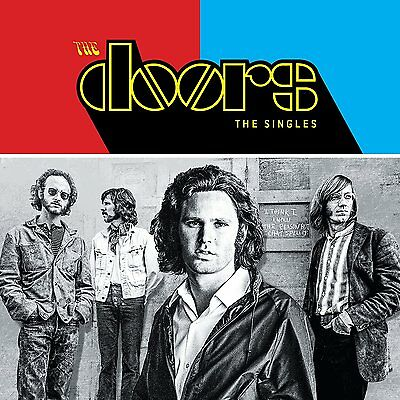 THE DOORS 'THE SINGLES' (Best Of) 2 CD + BLU RAY SET (2017)