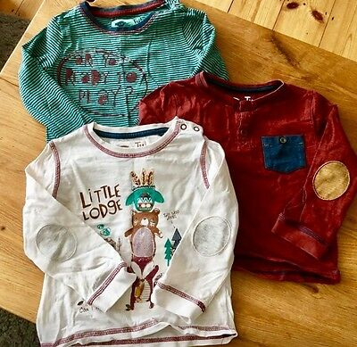 Boys Long Sleeve Tops 12-18 Months
