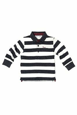 Baby boys rugby polo top shirt 6-9-12-18-24 month 1-2-3 years long sleeve winter