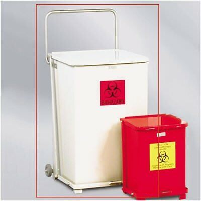 The Defenders Receptacle 40 Gallon Step On Trash Can Set of 4