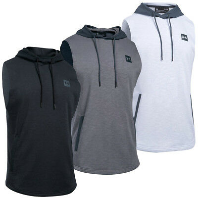 Under Armour 2017 Mens UA Sportstyle Sleeveless Hoodie Hooded Pullover