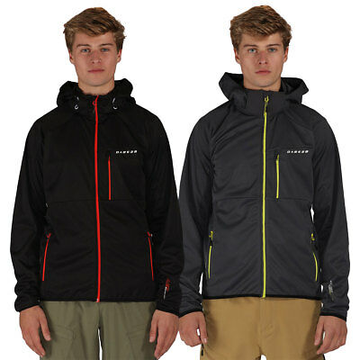 Dare2b Mens 2017 Mobilize Softshell Stretch Waterproof Jacket 67% OFF RRP