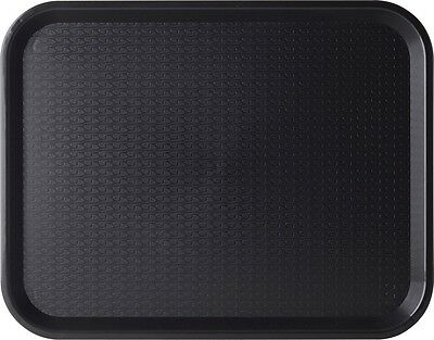 Fast Food Trays (pk of 10) Black good condition 11 x 14