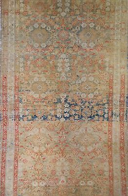 Marvelous Malayer - 1900s Antique Persian Runner - Floral Rug - 3.1 x 9.6 ft.