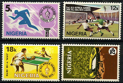 Nigeria 1973 SG#307-310, 2nd All African Games MH Set #D55676