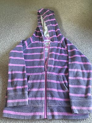 Mini boden towelling hoody aged 5-6 yrs