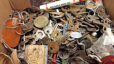 Large Lot Keys Bar Items Lighter Tokens Stuff Junk Draw 1 Lock As Is Ship As Is
