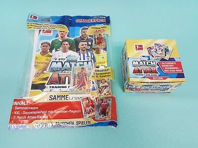 Topps Match Attax 2017/2018  Starterpack +  1 x Display / 50 Booster 17/18