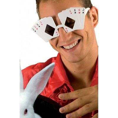 Lunettes Blanches Cartes Casino