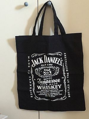 Sac Coton Toile Plage Jack Daniel's Neuf Hypster Hipster