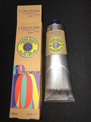 Brand New Boxed L'OCCITANE Limited Edition Shea Hand Cream 150ml
