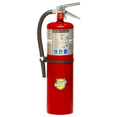 Fire Extinguisher, 10 lb. Capacity, Dry Chemical, 11340, Buckeye 2017 New In Box