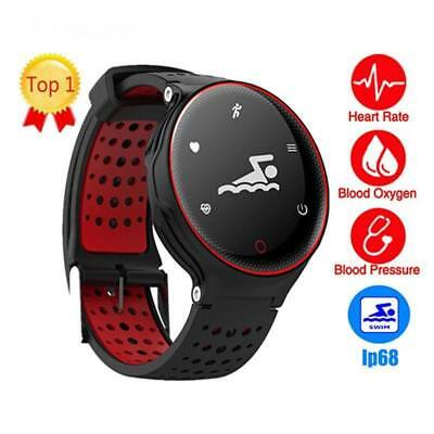 Bluetooth Smart Watch Heart Rate Monitor Blood Pressure Waterproof Smart Band