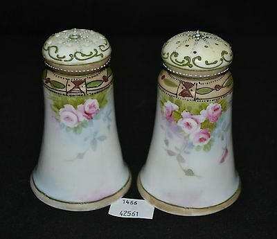 ThriftCHI ~ Vintage Hand Painted Salt & Pepper Shakers Unmarked