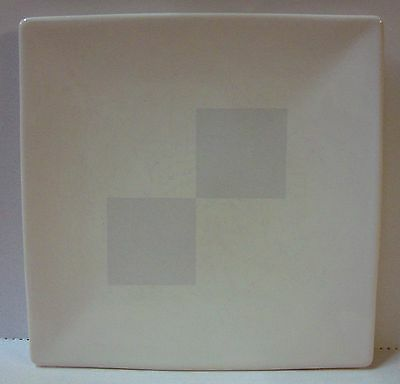 Nautica ARCTIC WHITE Buffet Plate Square USED More Items Available