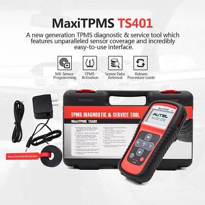 Autel MaxiTPMS TS401 Diagnostic Tool TPMS Activate Reset Tire Sensor For GM Ford