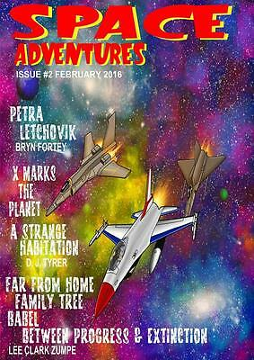 192 SPACE ADVENTURES #2 A Rainfall chapbook - Pulse pounding Astro Adventures!