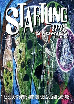 112 STARTLING SPACE STORIES #2 Rainfall chapbook. Science Fiction tales