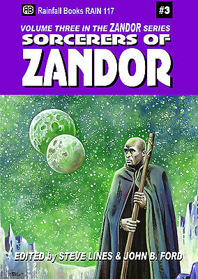 117 SORCERERS OF ZANDOR Rainfall chapbook. #3 in a series  - S&S/Fantasy
